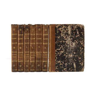 Fleury, Lame M.  La Historia de la Edad Media referida a los Niños y Jóvenes. Puebla: Imp. del Editor, 1873 - 1876. Piezas: 7.