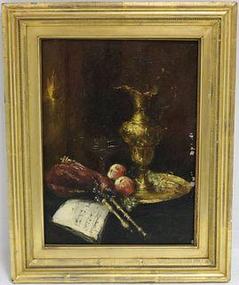 ANTOINE VOLLON (1833-1900, FRANCE) OIL PAINTING