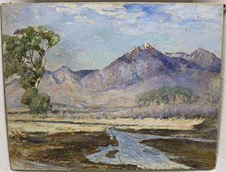 DAVID WALKLEY (1849-1934, CT, NY, OH) OIL ON
