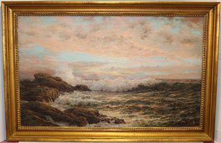 HENRY CADY (1849-1935, RI, NJ) OIL ON CANVAS