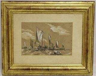 ATTRIBUTED TO ALBERT VAN BEEST (1820-1860, )