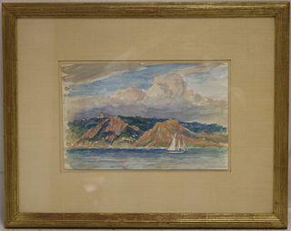 REYNOLDS BEAL (1867-1951, MA, RI) FRAMED