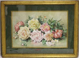 EMILY SELINGER (1848-1927, MA, RI, CA, NC)