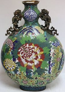 EARLY 20TH CENTURY PANTONE FORM CLOISONNÉ VASE
