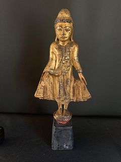 Mandalay Period Standing Buddha, 19th Century