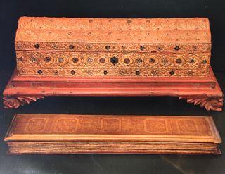 Kammavaca with Gilded Box, Burma, 19th Century