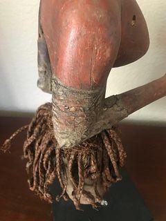 Nyamwezi Standing Half Figure Puppet, Early 20th