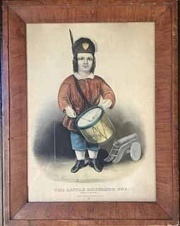 The Little Drummer Boy, by Currier & Ives, c. 1860