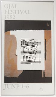 2 Robert Motherwell Signed Posters