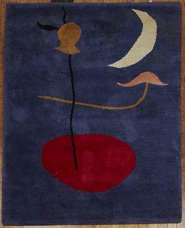 Wool Pile Carpet after Joan Miro