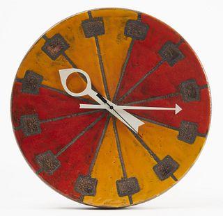 Bitossi Ceramic Clock