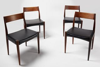 Niels Moller Set of 4 Rosewood Dining Chairs