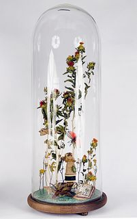 JENNIFER ANGUS,  Untitled (Insects in Bell Jar)