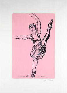 JAN SERR, Dance, no. 13 | Pirouette in Pink [BUY NOW: SOLD]