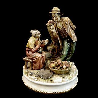 "Antonio Borsato ""The Mushroom Harvest"" Figurine"