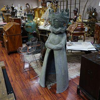 Life Size Bjorn Wiinblad Fiberglass Sculpture