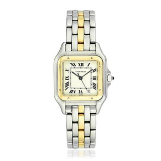 Cartier Panthere in Steel and 18K Gold