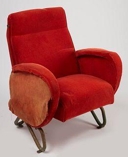 Rare Carlo Mollino Theater Chair