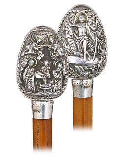 Silver Liturgical Cane