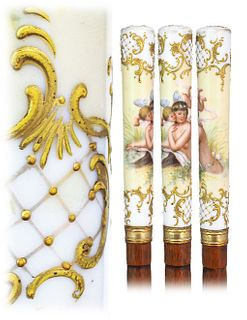 Porcelain Dress Cane