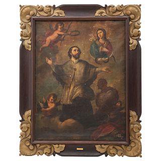 St. John Nepomucene, Mexico, Early 19th century, Oil on canvas