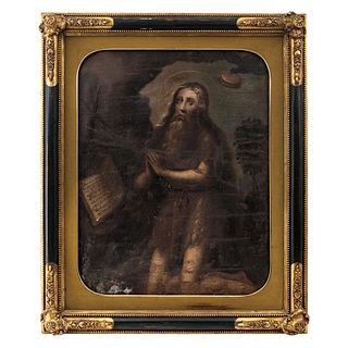 St. Paul the Hermit, Mexico, 18th century, Oil on canvas