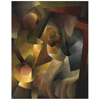 "JORXE GIANCARLO, Ruptura, Signed and dated 12, Oil on canvas, 39.3 x 31.4"" (100 x 80 cm), Certificate"