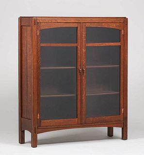 Limbert Two-Door Bookcase c1910