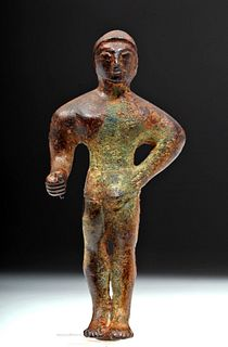 Etruscan Bronze Kouros - Homage to Male Youth