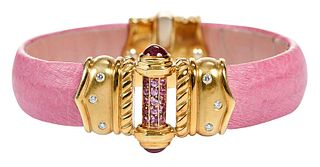 Orlanda Olsen 18kt. Gemstone Bracelet