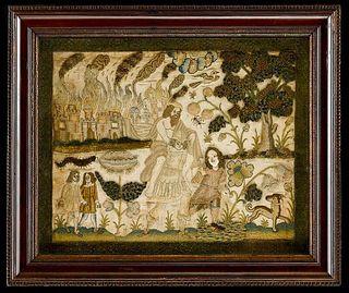 Stuart Silk Greek Mythological Themed Needlework