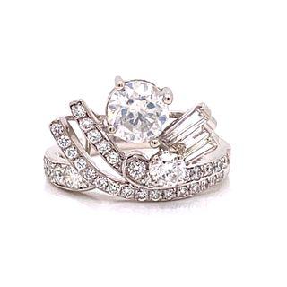 ORIANNE Platinum Diamond Ring