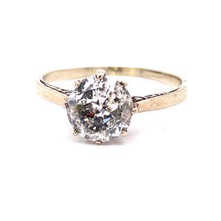 1920Õ Platinum Diamond Engament RingÊ