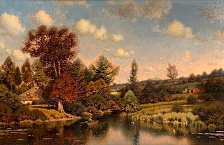 George W. Drew Oil, Late Afternoon, New England