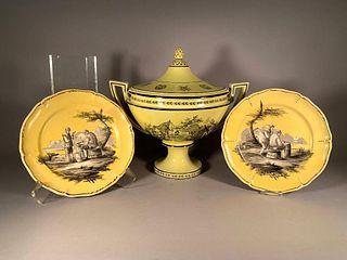 Assorted Yellow Glaze Ceramics MottahedehDesign Italy