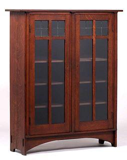 Gustav Stickley - Harvey Ellis Two-Door Bookcase