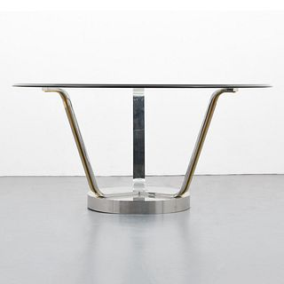 "Karl Springer ""Tulip"" Dining Table"