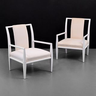 Pair of Arm Chairs Attributed to Tommi Parzinger