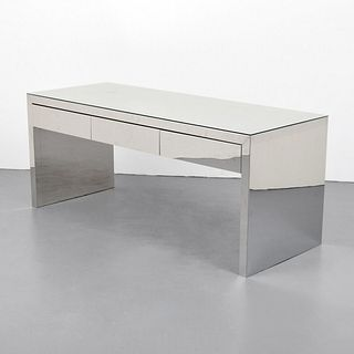 Desk/Console Table, Manner of Karl Springer