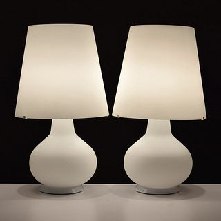 Pair of Large Max Ingrand Lamps