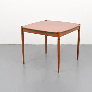 Gio Ponti Game Table, Reversible Top