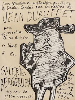 After Jean DuBuffet, (20th century), Exhibition Poster