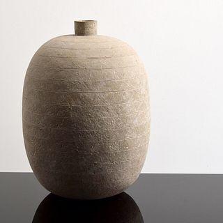 "Large Claude Conover ""Nakum"" Vase/Vessel, Early Work"
