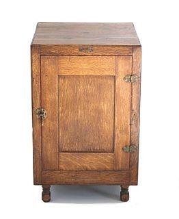 E. H. Sargent & Co Converted Oak Incubator Cabinet