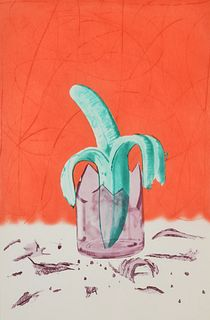 """James Rosenquist """"On Stage"""" Aquatint/Etching, Signed Edition"""