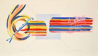 "James Rosenquist ""Windscreen Horizon"" Print, Signed Edition"