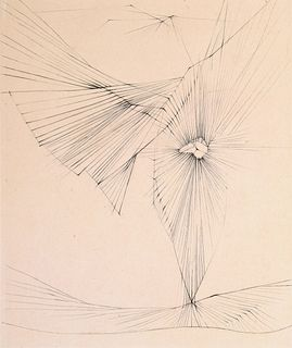 """Hans Bellmer """"Dialogues 5"""" Etching, Signed Edition"""