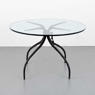 Bronze Dining Table, Manner of Alberto Giacometti