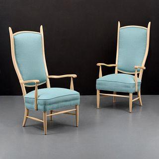 Pair of Edward Wormley Arm/Lounge Chairs