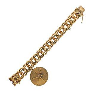 Mid Century Tiffany & Co Charm Bracelet
